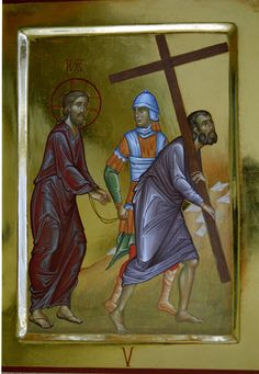 Via Crucis - loscriptorium san sisto - Picasa Albums Web Byzantine Icons, Religious Images, Holy Week, Bible Art, Christianity, Medieval, Religion, Baseball Cards, Painting