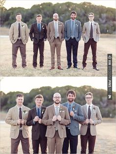 rustic groomsman looks | CHECK OUT MORE IDEAS AT WEDDINGPINS.NET | #bridesmaids