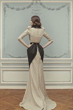 Ulyana Sergeenko   Couture 2013 Victorian ish gown