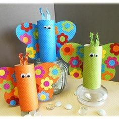 Always looking for toilet paper roll crafts.