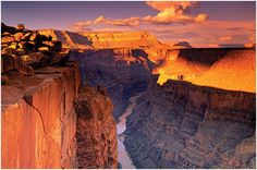 greatest places to see sunset in the world grand canyon