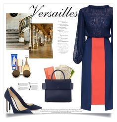 """""""Elegance in Versailles"""" by kays-fashion-escape ❤ liked on Polyvore featuring Lattori, Skagen, Givenchy, Buly, Stila, Christian Dior, Trianon, france, polyvorecommunity and versailles"""