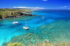 Honolua Bay in Kapalua, Maui, Hawaii
