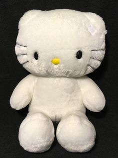 7d38687002a Build A Bear Hello Kitty White Plush Cat with I Love You Sounds