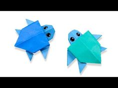 Easy Turtle Origami Amazing Of Origami Turtle Instructions Sea Instr On. Easy Turtle Origami How To Make An Origami Turtle Step Step Instructions Free. Origami Ball, Diy Origami, Origami Frog, Origami Butterfly, Useful Origami, Paper Crafts Origami, Origami Design, Origami Tutorial, Origami Hearts