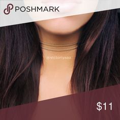 """Tan Suede 2-Layer Choker 🌸 Handmade 🌸 12"""" with extender that extends to 15"""" ❌ No trades ❌ No offers on this particular item. Please bundle if you want a discount, check my closet discount for current bundle deals. Jewelry Necklaces"""