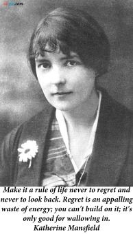 Carole's Chatter: Katherine Mansfield