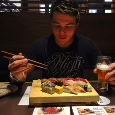 Josh in Japan! My gosh I freaking love him