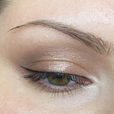EOTD - Rose Gold Eyeshadow Look - created using Urban Decay's Naked 3 and Naked Basics Palettes