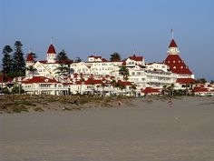 Hotel del Coronado in San Diego, CA.