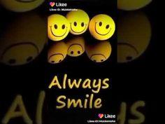Always smile Status Smile Status, Always Smile, I Love You, Channel, Make It Yourself, Youtube, Te Amo, Je T'aime, Love You