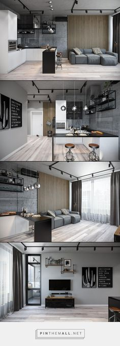 Interior design Cozy Small Apartments, 15 Perfect and Cozy Small Living Room Design Interior Apartment Interior, Apartment Design, Apartment Living, Interior Design Living Room, Apartment Ideas, Kitchen Interior, Cozy Apartment, Apartment Furniture, Design Bedroom
