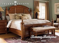 Lexington Home Brands offers a wide array of upscale home furnishings and furniture from Lexington and Tommy Bahama. Tropical Bedrooms, Tropical Home Decor, Tropical Furniture, White Bedroom, Bedroom Sets, Bedroom Decor, Bedding Sets, Modern Bedroom Design, Contemporary Bedroom