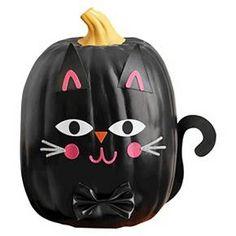 Halloween Cat Pumpkin Decorating Kit - Spritz™ : Target