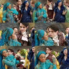 Descendants Characters, Disney Channel Movies, Disney Channel Descendants, Disney Descendants 3, Descendants Cast, Funny Disney Jokes, Disney Memes, Mal And Evie, Really Good Movies