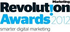 "Revolution Awards 2012.  Smarter Digital Marketing.    www.Revolutionawards.com    ""Digital marketing world in common sense marketing terms"""