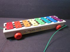 vintage 1964 fisher price pull toy