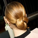 Easy but elegant, this chignon is perfect for any formal occasion