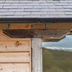 Home Farm, Shropshire Barn Conversion Exterior, Barn House Conversion, Barn Conversions, Rustic Cottage, Cottage Ideas, Barn Windows, Orangery Extension, Wooden House Design, Barn Kitchen