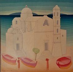 Chiesa dello Spirito Santo. olio su tela.