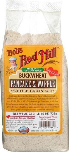Bob's Red Mill Buckwheat Pancake And Waffle Mix - 26 Oz - Case Of 4