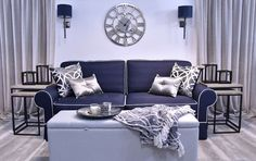 Living Room Inspiration, Art Deco, Couch, Furniture, Home Decor, Settee, Decoration Home, Room Decor, Sofas