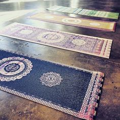 want one of these indian prayer rug style yoga mats. Xo