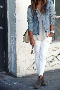 Comfy and casual spring look!