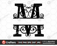 Free Svg Files Monogram, Monogram Signs, Free Monogram, Monogram Fonts, Monogram Initials, Font Alphabet, Calligraphy Alphabet, Calligraphy Fonts, Script Fonts
