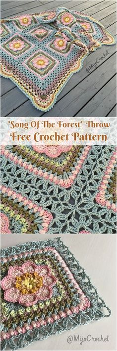 63 ideas for crochet afghan pink granny squares : 63 ideas for crochet afghan p. 63 ideas for crochet afghan pink granny squares : 63 ideas for crochet afghan p…- 63 ideas f Crochet Square Patterns, Crochet Motifs, Crochet Quilt, Crochet Blocks, Crochet Squares, Love Crochet, Crochet Blanket Patterns, Beautiful Crochet, Crochet Baby