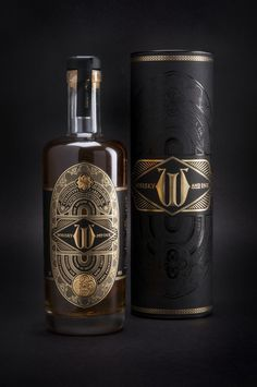 Whisky & Ink label design by United Creatives