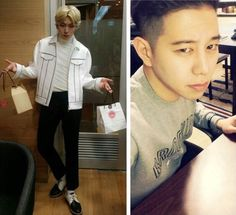 Zico and Taewoon on Valentine's Day