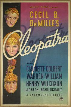Cleopatra (1934) Claudette Colbert
