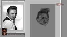 Jason Seiler Draws and Paints Mr. Johnny Cash (15 min teaser)