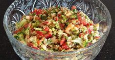 The Best Caribbean Recipes Online by Chef & Gourmand Award Winning Cookbook Author, Chris De La Rosa. Salad Recipes Video, Healthy Salad Recipes, Vegan Recipes, Fast Recipes, Vegan Food, Food Dishes, Side Dishes, Healthy Snacks To Make, Healthy Eating