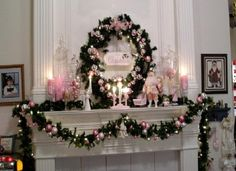 Decorating Fireplace Mantels For Christmas how to decorate a fireplace mantel for christmas Homy & Sweety