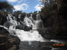 Upper Nyangombe Falls, Nyanga in Zimbabwe. I've spent many hours sat on the rocks watching the water pour down the falls. Its a magical place. Places Around The World, Around The Worlds, Places To Travel, Places To Go, My Route, Moving To The Uk, Lest We Forget, All Nature, Places Of Interest