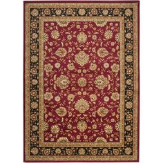 """Found it at Wayfair - Midtown Red Area Rug 7'10' X 10'3"""", $280.00, .4 pile"""