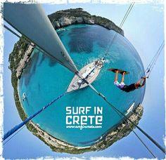 #kitesurf #crete #greece