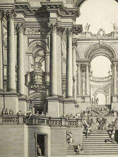 Renaissance Architecture, Classical Architecture, Historical Architecture, Art And Architecture, Fantasy City, Fantasy Rpg, Building Illustration, Illustration Art, Gothic Drawings