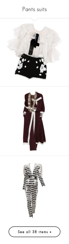 """Pants suits"" by susanp76 ❤ liked on Polyvore featuring dresses, doll clothing, rompers, edits, jumpsuits, suit, balmain, dolls, outfits and blue"