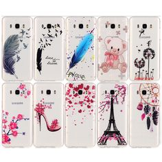 For Samsung J 7 2016 Case Back Cover Soft TPU Gel Case for Samsung Galaxy J7 2016 J710 J710f Phone Bags Silicone Covers Cases