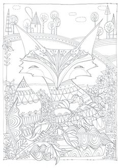 FOXY--Coloring+Card-Coloring+cards-3.95