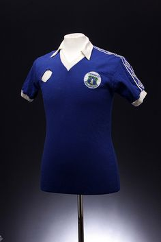 Everton Football Shirt (1978 - 1979).... just think of Mike Lyons