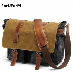 Men s Fashion casual Business Travel Shoulder Bags Men Messenger Bags  waterproof Canvas 14inch Laptop Briefcase Men Bag LI 1491-in Crossbody Bags  from ... aee822f41c535