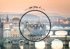 Que faire à Prague : Prague renferme une mine d'adresses pour flâner et s'offrir un bouillon de culture. Suivez notre guide pour savoir que faire à Prague....