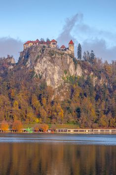 castle over the water by Marko Fric / 500px