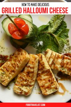 Your summer dinner ideas just got an upgrade with this grilled halloumi cheese recipes. You'll discover what we did long ago and have been enjoying it ever since. It's easy tasty and different.