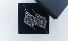 Check out this item in my Etsy shop https://www.etsy.com/listing/594666344/swarovski-earrings