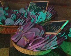 havaianas em cestos